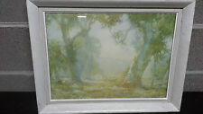 "Vintage Framed Hans Heysen Print ""Summer"" reproduced by permiss of Trustees NGA"