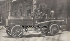 FDNY WATER OWLS FIRE DEPARTMENT NEW YORK 1911 VINTAGE PUMPING ENGINE FIGHTER