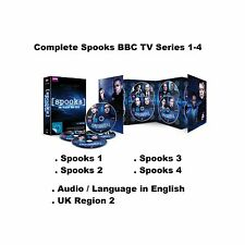 Complete Spooks BBC TV Series 1-4 DVD Collection Seasons 1 2 3 4