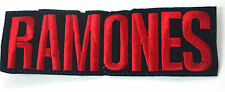 RAMONES EMBROIDERED APPLIQUE BADGE MORALE PATCH SEW IRON ON