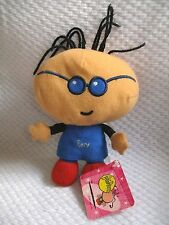 "CARTOON NETWORK ADVENTURE TIME PLUSH 2001  BUBBLEGUM ""EASY"" 6 1/2"" w/tag"