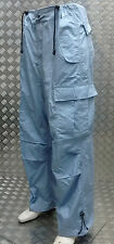 "Jungle Combat / Cargo Baggy 6 Pocket Trousers Light Blue Size 38"" - NEW"