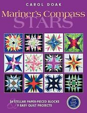 Mariner's Compass Stars: 24 Stellar Paper-Pieced Blocks & 9 Easy Quilt Projects,