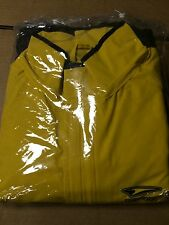 Teknic 2 Piece Waterproof Motorcycle Rain Suit Yellow Size Small and Black