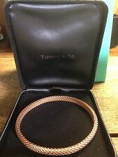 Tiffany 18ct Gold Somerset Bangle