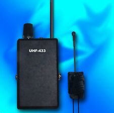 Set 110 / 220V UHF Mains Room Quartz Transmitter / PLL Receiver  STABLE & SAFE