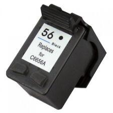 56 HP Black Ink Cartridge DeskJet 5650w 5850 5850w 9650 9670 9680 FAX 1240