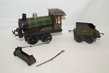 Bing locomotora 0 35 tender ferrocarril reloj pista 0 dañado defectuosa piezas de repuesto