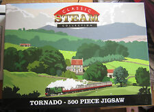 500 pc JIGSAW PUZZLE ( CLASSIC STEAM COLLECTION - TORNADO ) SUPERB CONDITION!!!