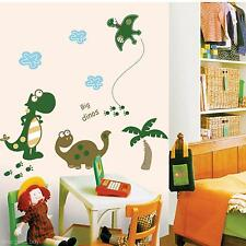 Removable Cute Dinosaur Vinyl Art Wall Sticker Home Baby Kid Room Decor Decal