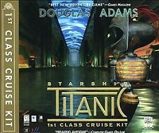Vintage Microsoft Video Game Starship Titanic 1st Class Cruise Kit 1999