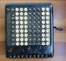 Vintage Antique Burroughs Adding Machine Steampunk Industrial not working Detroi