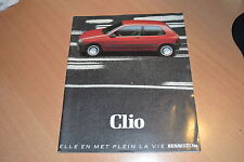 CATALOGUE Renault Clio de 1991