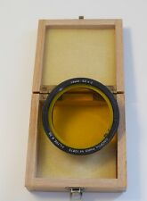 KINOPTIK PARIS YELLOW 56MM FILTER 52 x 2 WITH BOX