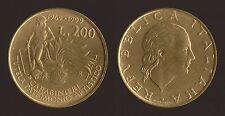 200 LIRE 1999 CARABINIERI - ITALIA Q.FDC/aUNC QUASI FIOR DI CONIO
