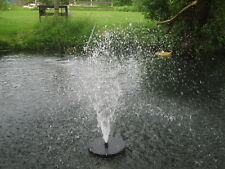 BIRCHWOOD:1,000gph!  FLOATING Pond Pool FOUNTAIN up to 8ft HIGH!  w/ 3 Nozzles