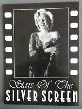 80s MARILYN MONROE POSTCARD 1953 Athena Stars of the Silver Screen in lace