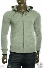 New Mens Tommy Hilfiger Full Zip Gray Turley Hoodie Sweat Track Jacket S