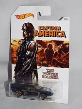 Hot Wheels 2016 Wal-Mart Captain America Series 5/8 Rivited The Winter Soldier