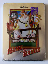 Disney Home On The Range on DVD in Real 3D Collectible Tin Packaging