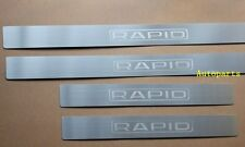 Door sill scuff plate step For Skoda Rapid 2013 2014 2015