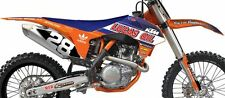 KTM SX SXF 125-450 13 14 15 Lucas Oil Team replica graphics & plastics kit MX