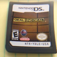Deal or No Deal: Special Edition  (Nintendo DS, 2010) DSi XL 3DS Game Cartridge