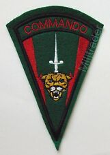 Zaire Zairean Commando Patch (Embroidery and Felt) Large