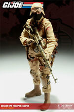 "Sideshow 1/6 Scale 12"" GI Joe Cobra Sniper The Enemy Action Figure 100078"