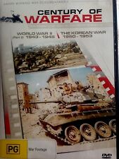 WORLD WAR 11 THE KOREAN WAR * USED  DVD *
