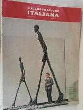 L ILLUSTRAZIONE ITALIANA Luglio 1962 Spagna Positano Cecchi Biennale Alesia di e