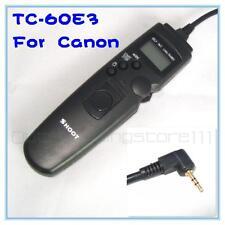 TC-60E3 Timer Remote Shutter Release for Canon 550D 500D 60D 1000D 1100D RS-60E3