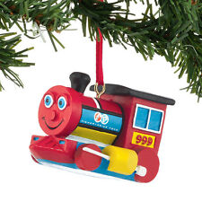 Fisher Price Huffy Puffy Train Toy Ornament Christmas Dept 56 Retro Holiday