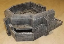 28mm Scale Wargaming Terrain Atlantic Wall Flak Cannon Bunker