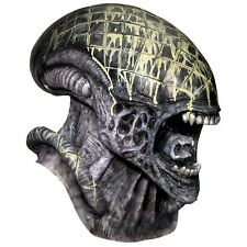 Deluxe Alien Mask AvP Alien vs Predator Adult Mens Halloween Costume Accessory