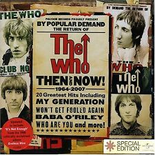 Then And Now - The Who - CD
