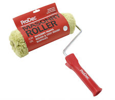 "ProDec 9"" Inch Masonry Roller Sleeve & Frame Paint Roller For Brickwork PRRF006"
