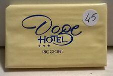 SAPONETTA DOGE HOTEL - TRE STELLE - RICCIONE - RETTANGOLARE - INCARTATA - N. 45