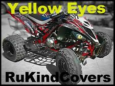2017 YAMAHA Raptor 700 450 350 YELLOW Raptor Eye's Head Light Covers ALL YEARS