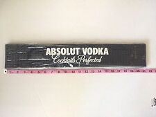 NIB ABSOLUT VODKA Essential Kit Bar and Server Mat