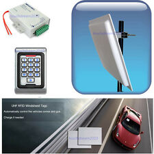 5-7m UHF RFID Reader Vehicle Parking Control Kits with Controller Windshield Tag
