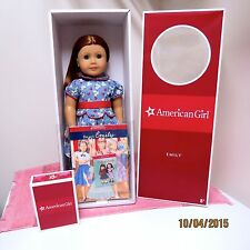 NRFB American Girl Retired Emily New in Original Box & Her Accessories Too!