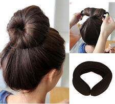 2pc Magic Éponge Styling Bun Twist Curler Clip Donut Cheveux Pr Barrette Chignon