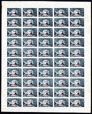 Russia, sheet of 50 stamps of Scott# 200, Michel# 173 I x, MNHOG