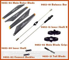 DOUBLE HORSE DH9053 RC HELICOPTER BLADE & SHAFT QUICK WEAR PARTS