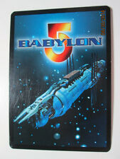BABYLON 5 CCG FIXED AND RARE CARDS - PREMIERE, DELUXE, SHADOWS, AND GREAT WAR