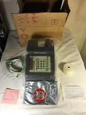 Vintage NOS Burroughs Electronic Adding Machine J 704 Mechanical Calculator NIB
