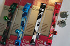 ANCOL NYLON CAMOUFLAGE CAT COLLAR WITH HAND ENGRAVED CHROME FISH ID TAG FREE P&P