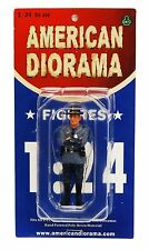 """STATE TROOPER TIM POLICE BLUE AMERICAN DIORAMA 1:24 Scale Figurine 3"""" Figure"""