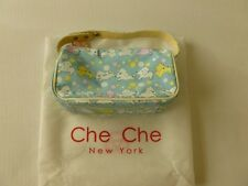 Che Che New York Small Bag Cosmetic Bag Light Blue, Yellow, Pink, White
